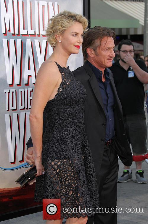 Charlize Theron and Sean Penn 1