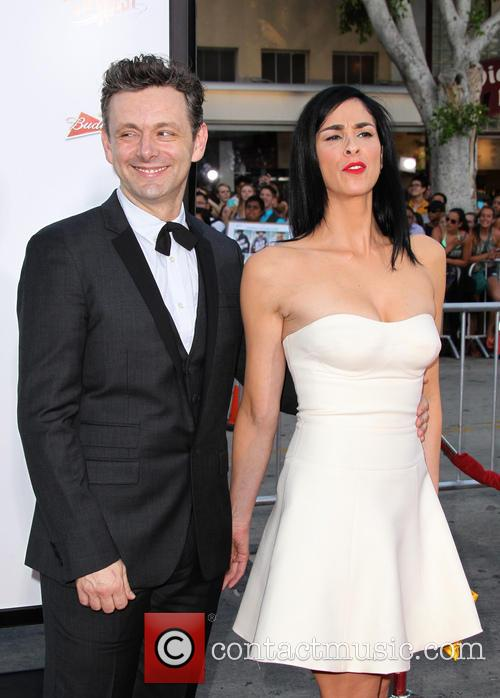 Michael Sheen and Sarah Silverman 2
