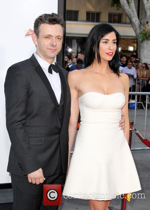 Michael Sheen and Sarah Silverman 1