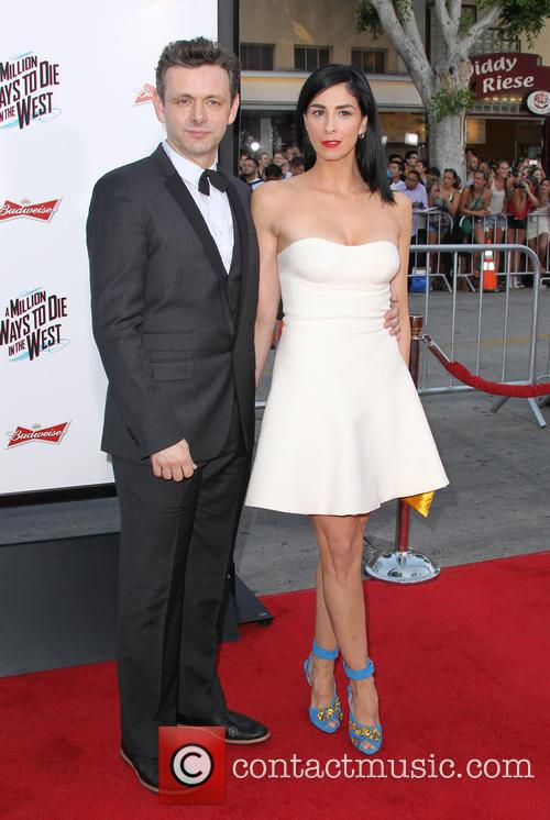 Michael Sheen and Sarah Silverman 6