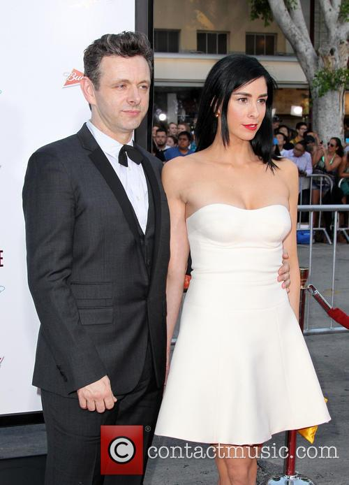 Michael Sheen and Sarah Silverman 7