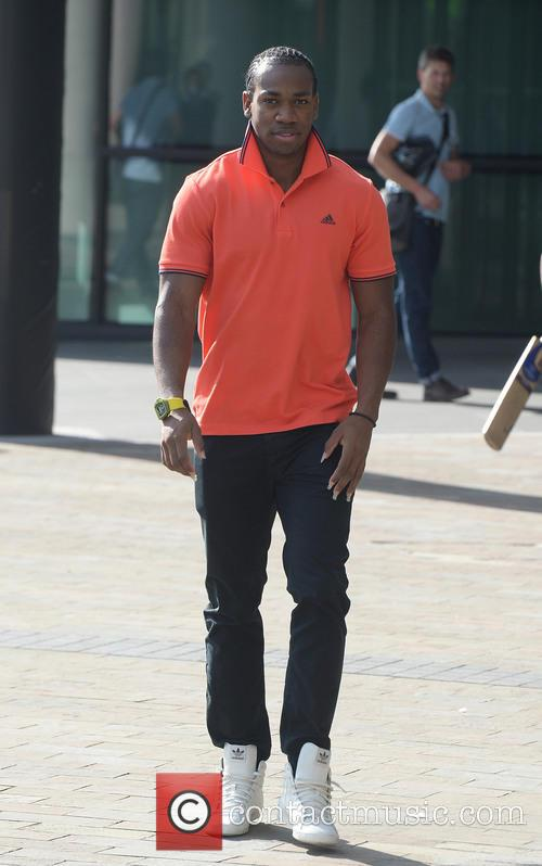 yohan blake celebrities outside bbc media city 4198274
