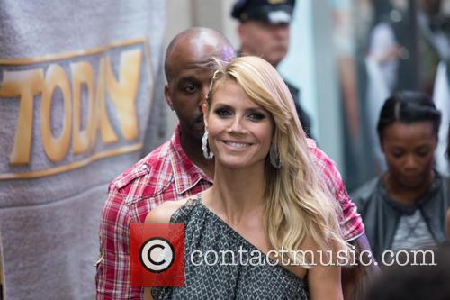 Heidi Klum on the 'Today' show