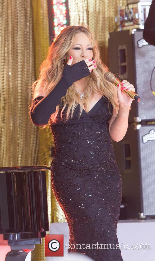 Mariah Carey performs on The Today Show