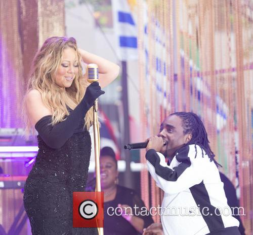Mariah Carey and Wale