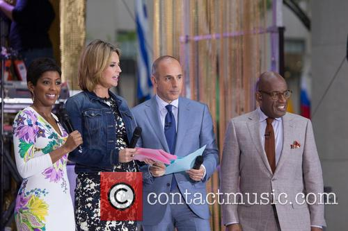 Tamryn Hall, Savannah Guthrie, Matt Lauer and Al Roker 1