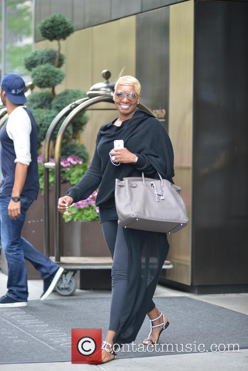Nene Leakes leaving her hotel in Soho
