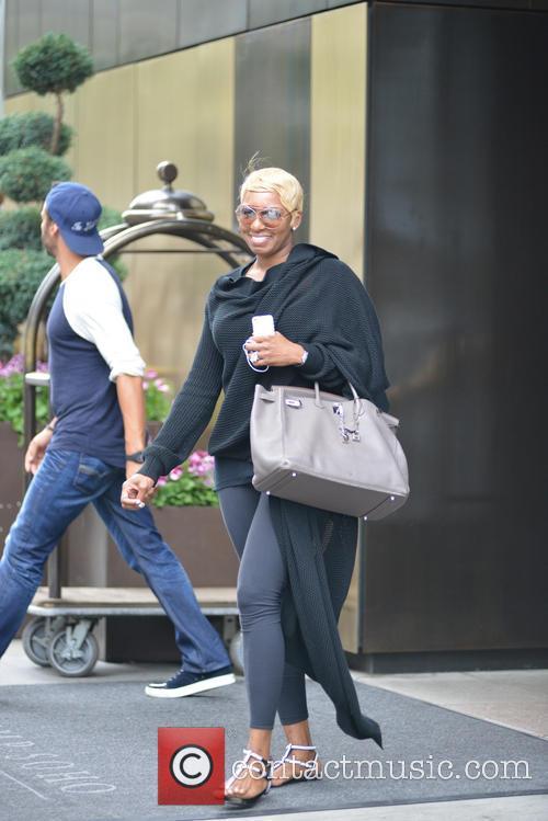 Nene Leakes leaving her hotel in Soho