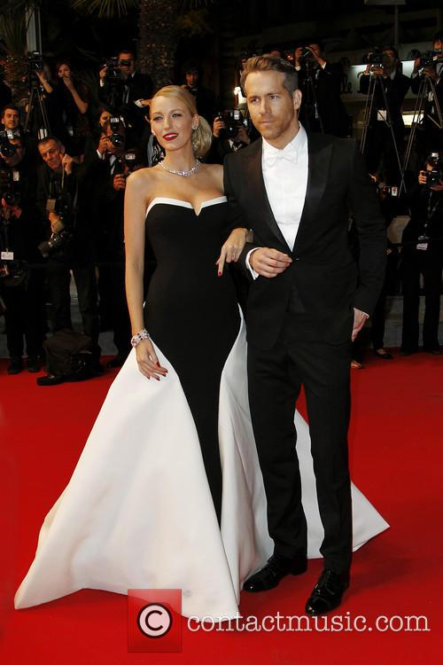 Blake Lively and Ryan Reynolds Cannes