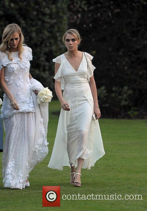 Poppy Delevingne marries James Cook in a lavish...