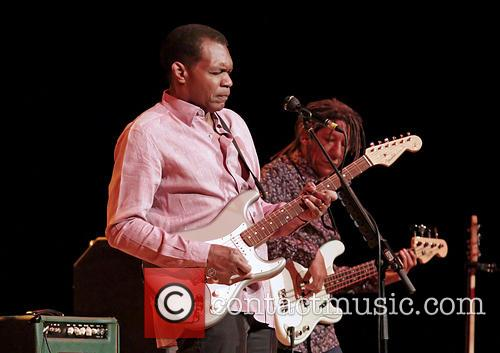 Robert Cray performing in Manchester