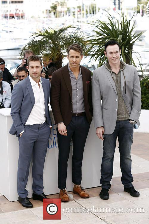 Kevin Durand, Atom Egoyan and Ryan Reynolds