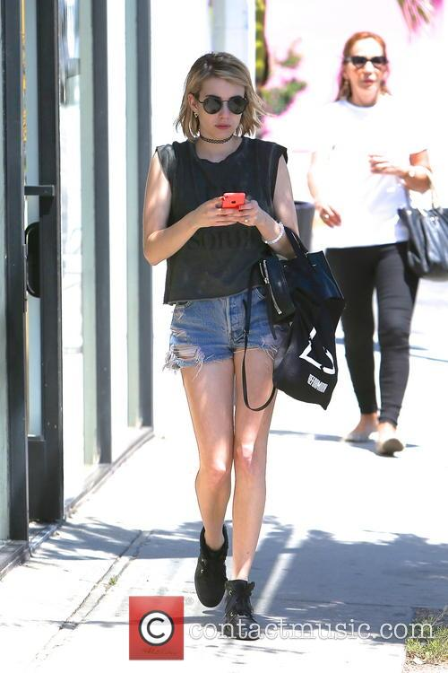 emma roberts emma roberts spotted leaving the 4198899