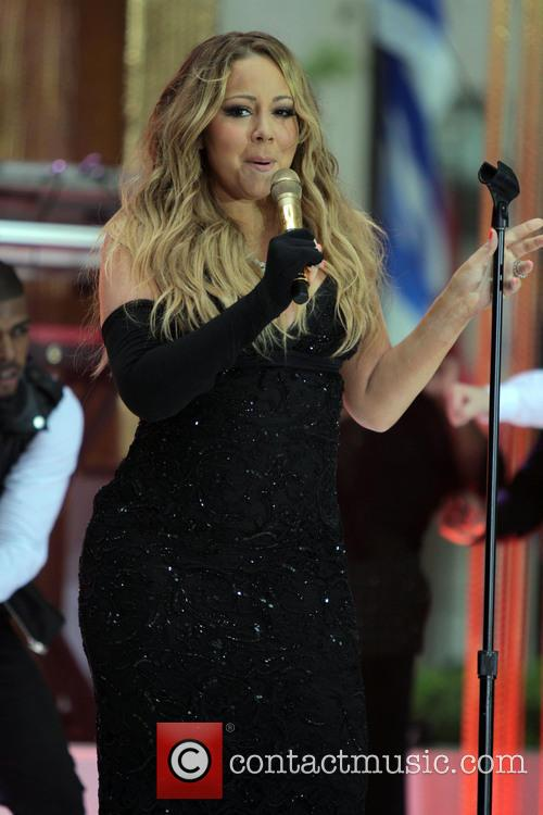 Mariah Carey Performs At NBCs Today Show NY