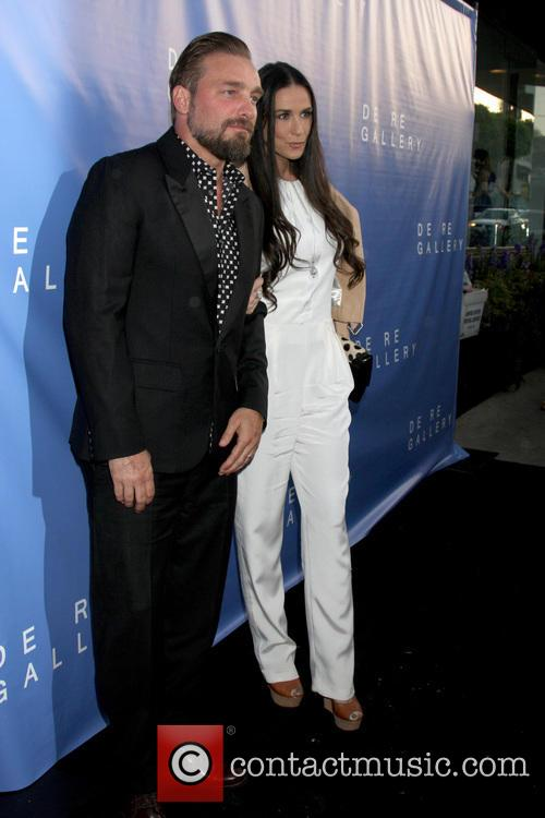 Brian Bowen Smith and Demi Moore 2