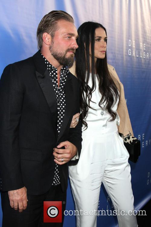 Brian Bowen Smith and Demi Moore 1