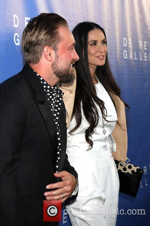 Brian Bowen Smith and Demi Moore 3