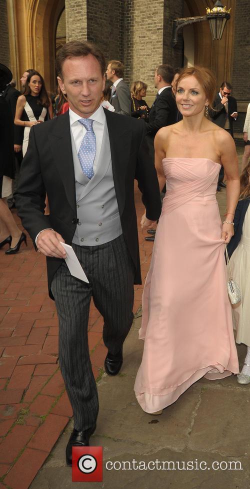 Geri Halliwell and Christian Horner 3