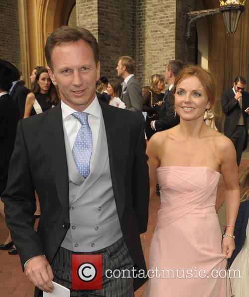 Geri Halliwell and Christian Horner 4