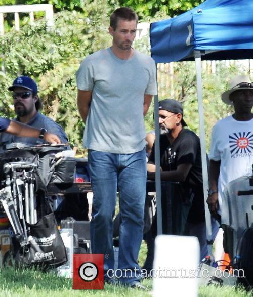 Jordana Brewster, Caleb Walker and Furious 8