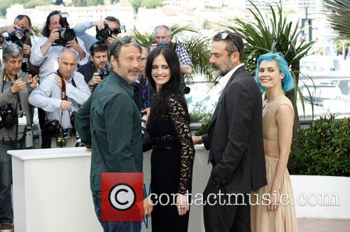 Mads Mikkelsen, Eva Green, Jeffrey Dean Morgan and Nanna Oland Fabricius 4