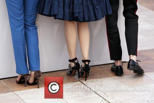 Aymeline Valade, Lea Seydoux and Amira Casar 3