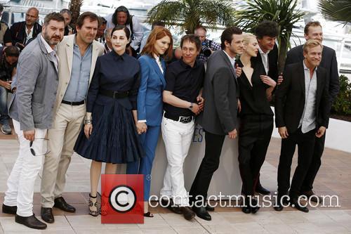 Bertrand Bonello, Aymeline Valade, Lea Seydoux, Amira Casar, Jeremie Renier and Gaspard Ulliel 8