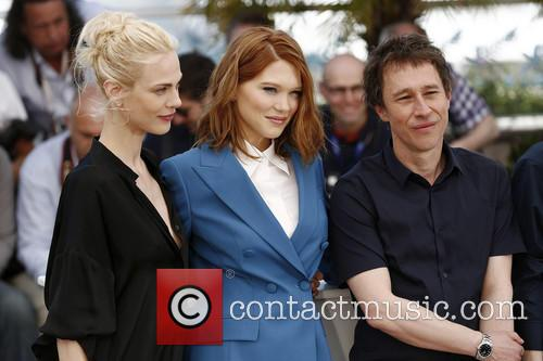 Bertrand Bonello, Aymeline Valade and Lea Seydoux 2
