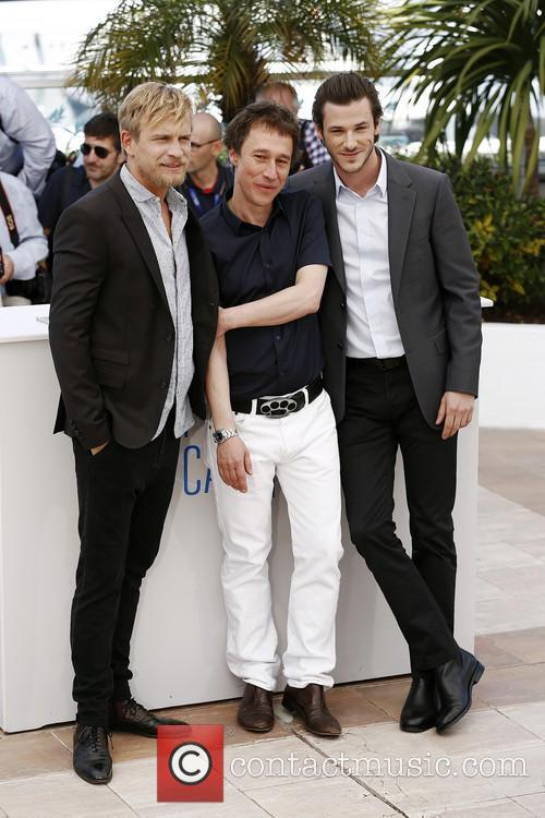 Bertrand Bonello, Jeremie Renier and Gaspard Ulliel