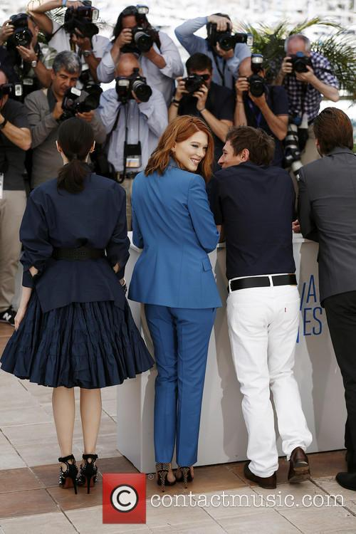 Bertrand Bonello, Lea Seydoux and Amira Casar 5