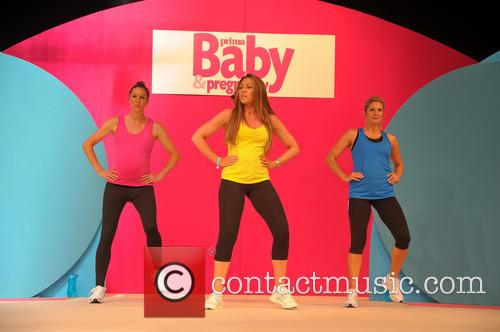 Michelle Heaton launches her fitness video 'Active Pregnancy'