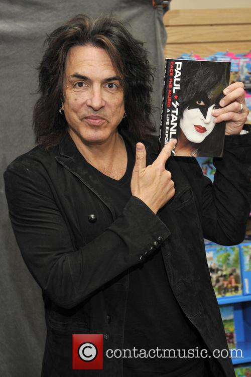 Paul Stanley signs copies of his book 'Face...