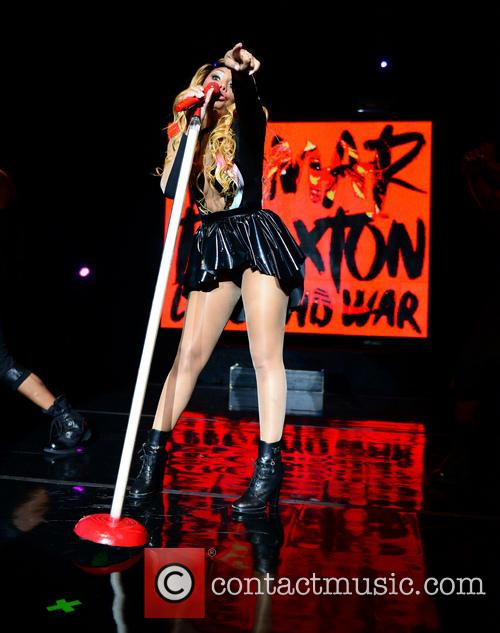 Tamar Braxton performs at The Fillmore Miami Beach