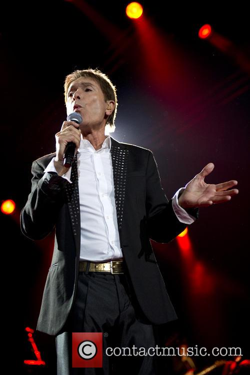 Cliff Richard performing at the Ziggo Dome
