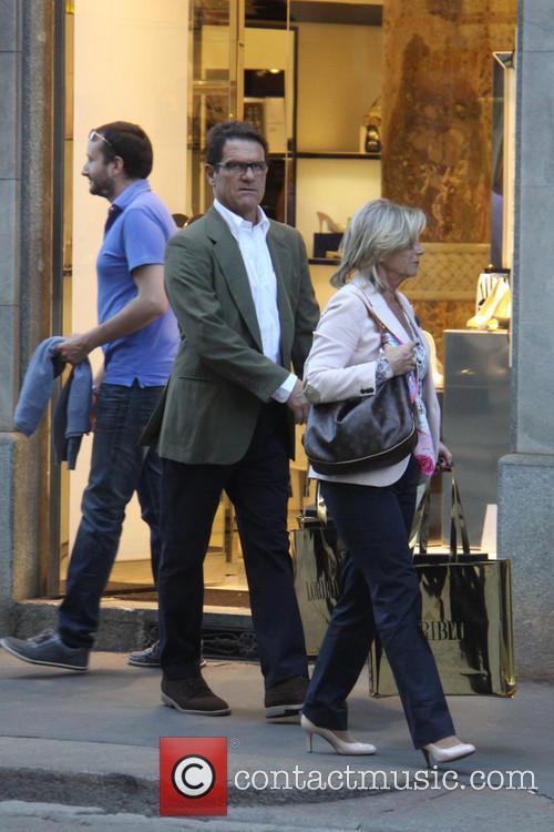 Laura Ghisi and Fabio Capello 2