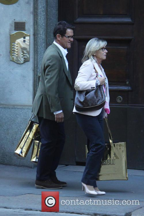 Laura Ghisi and Fabio Capello 4