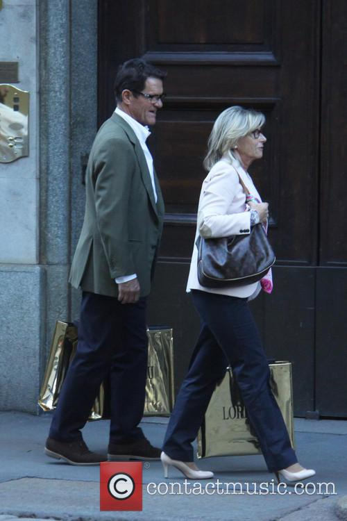 Laura Ghisi and Fabio Capello 7