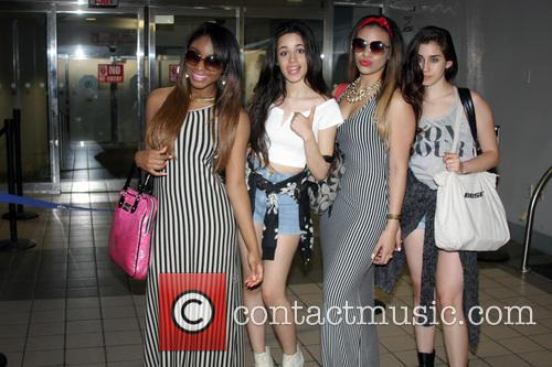 Fifth Harmony arrives Puerto Rico