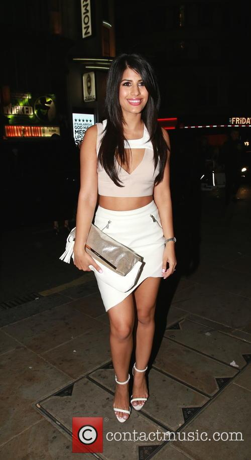 TOWIE's Jasmin Walia celebrates her birthday at Café...