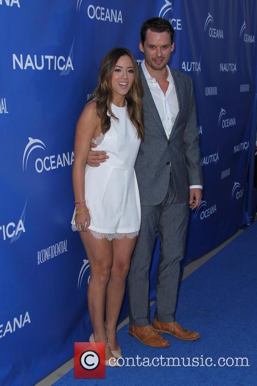 Chloe Bennet and Austin Nichols 4