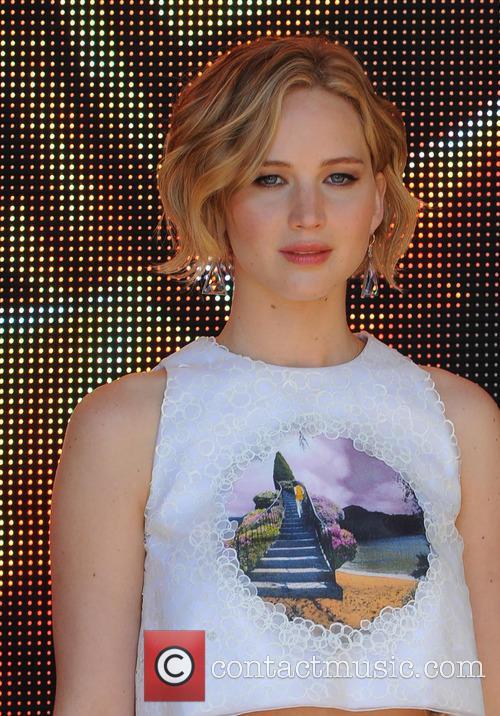 Jennifer Lawrence At Hunger Games Premiere