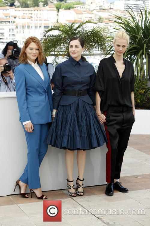 Léa Seydoux, Amira Casar and Aymeline Valade 4