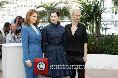 Léa Seydoux, Amira Casar and Aymeline Valade 10
