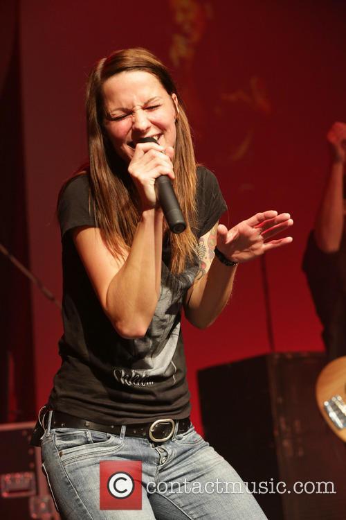 Christina Stuermer performing at BMW Welt