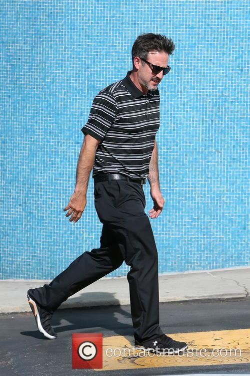 David Arquette spotted out in Beverly Hills