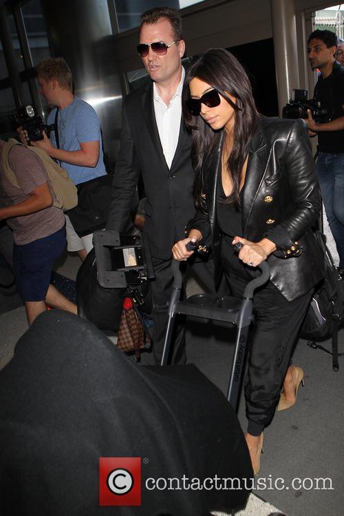 Kim Kardashian and North West 3