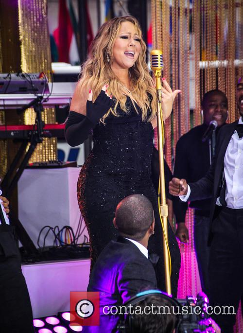 Mariah Carey and Heidi Klum appear on 'The...