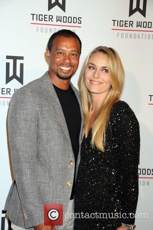 Tiger Woods and Lindsey Vonn 2