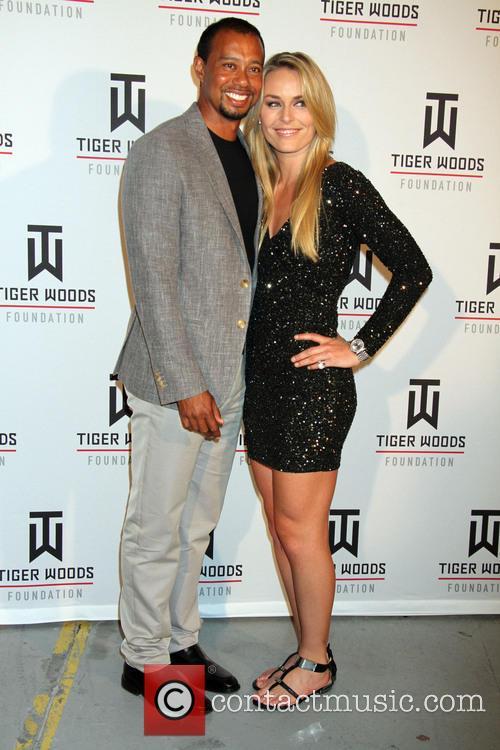 Tiger Woods and Lindsey Vonn 3