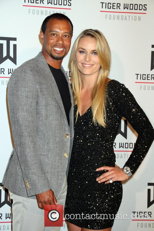 Tiger Woods and Lindsey Vonn 7
